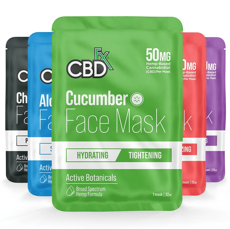 CBdfx Face Masks Collection