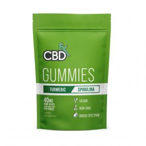 CBDfx Turmeric & Spirulina Gummies