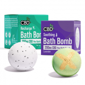 cbdfx bath bombs